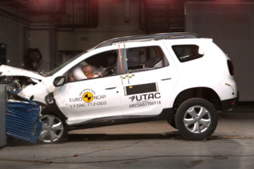 Dacia Duster 2018 EuroNCAP
