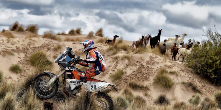 Mani Gyenes in Dakar 2017 - Anzii Bolivieni