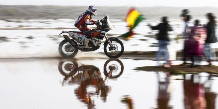 Mani Gyenes in Dakar 2017 etapa din Bolivia
