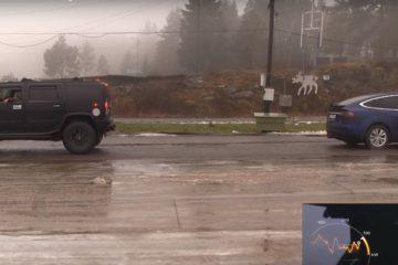 tesla model s vs Hummer H2