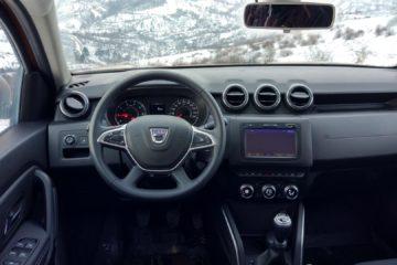 Dacia Duster interior model 2018