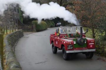 Land Rover motor abur