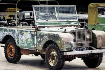 Land Rover Defender Series 1 - prototip nerestaurat