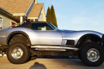 Chevrolet Corvette pick-up