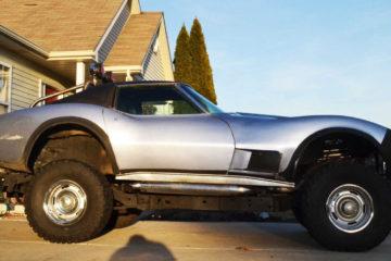 Chevrolet Corvette pick-up