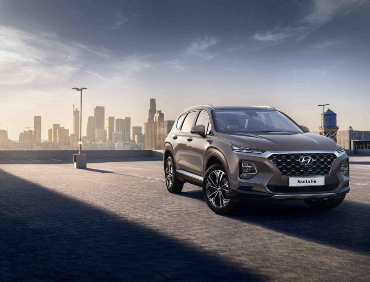 Hyundai Santa Fe exterior