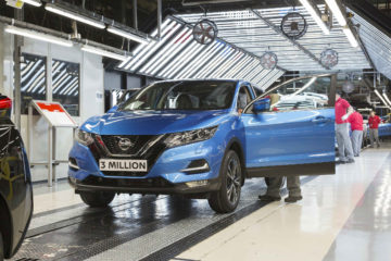 Nissan Qashqai productie 3 milioane