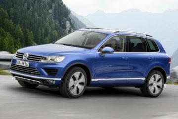 Volkswagen Touareg recall