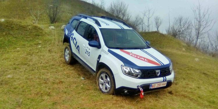 Dacia Duster 2018 off-road