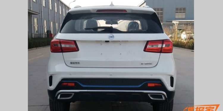 K-One SUV Electric clona Mercedes-Benz GLA