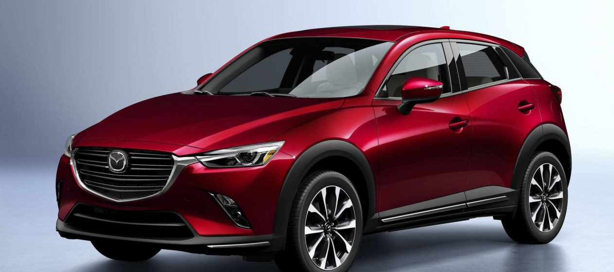 Mazda CX-3 facelift