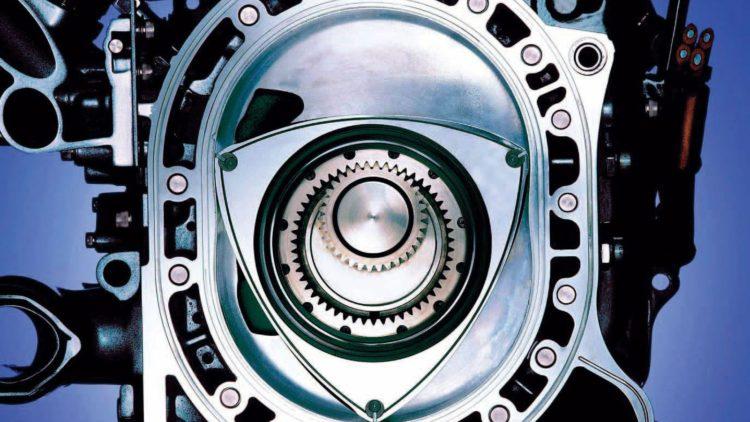 Mazda motor rotativ