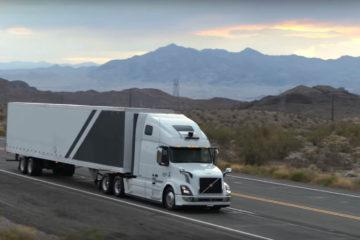 camion autonom uber