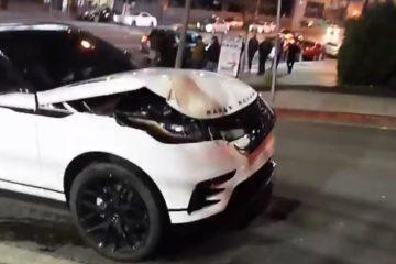 range rover accident