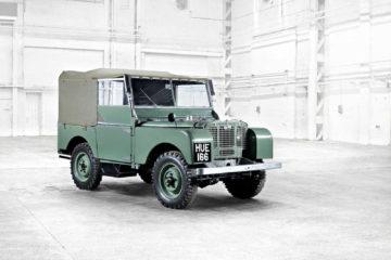 Land Rover 70 ani