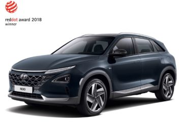 Hyundai Nexo Red Dot Design Award