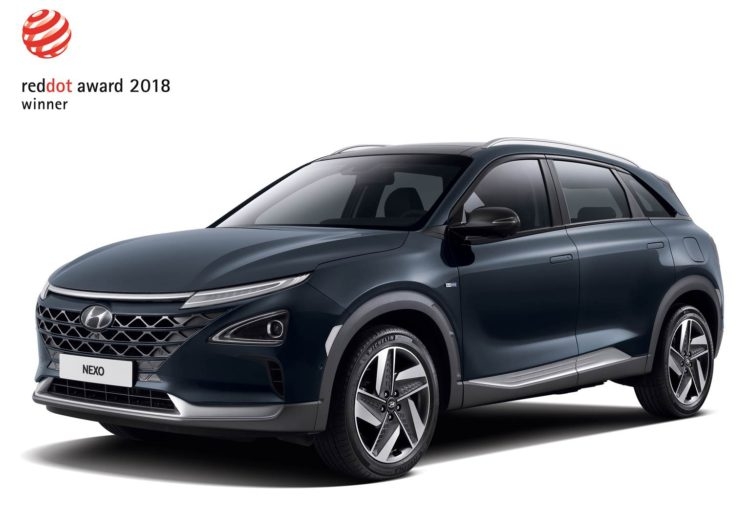 Hyundai Nexo Red Dot Design Award