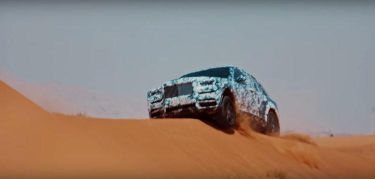 Rolls-Royce Cullinan desert