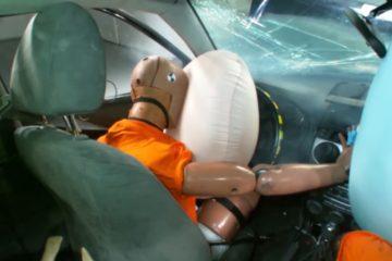 accident masina ruginita