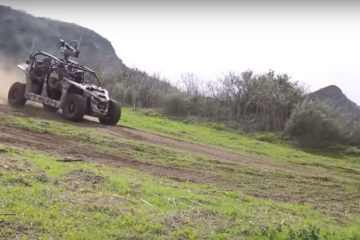 armata americana testeaza un UTV electric