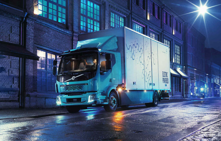 camion electric volvo