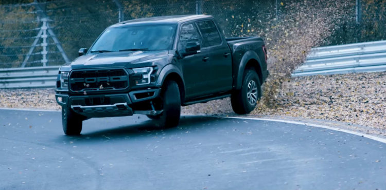 Nurburgring,video,Ford F-150 Raptor,Ford,F-150,pick-up,pick-up-uri,drift