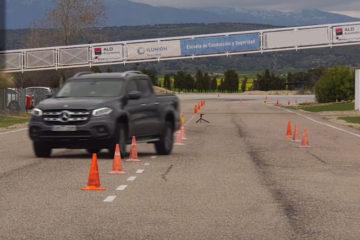 Mercedes-Benz Clasa X testul elanului