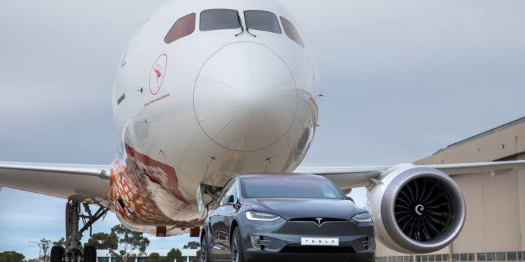 Record Tractare Tesla Model X