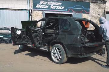 BMW X5 offroad