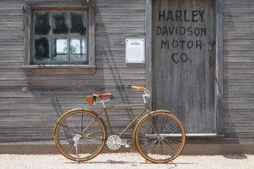 Harley Davidson bicicleta clasica