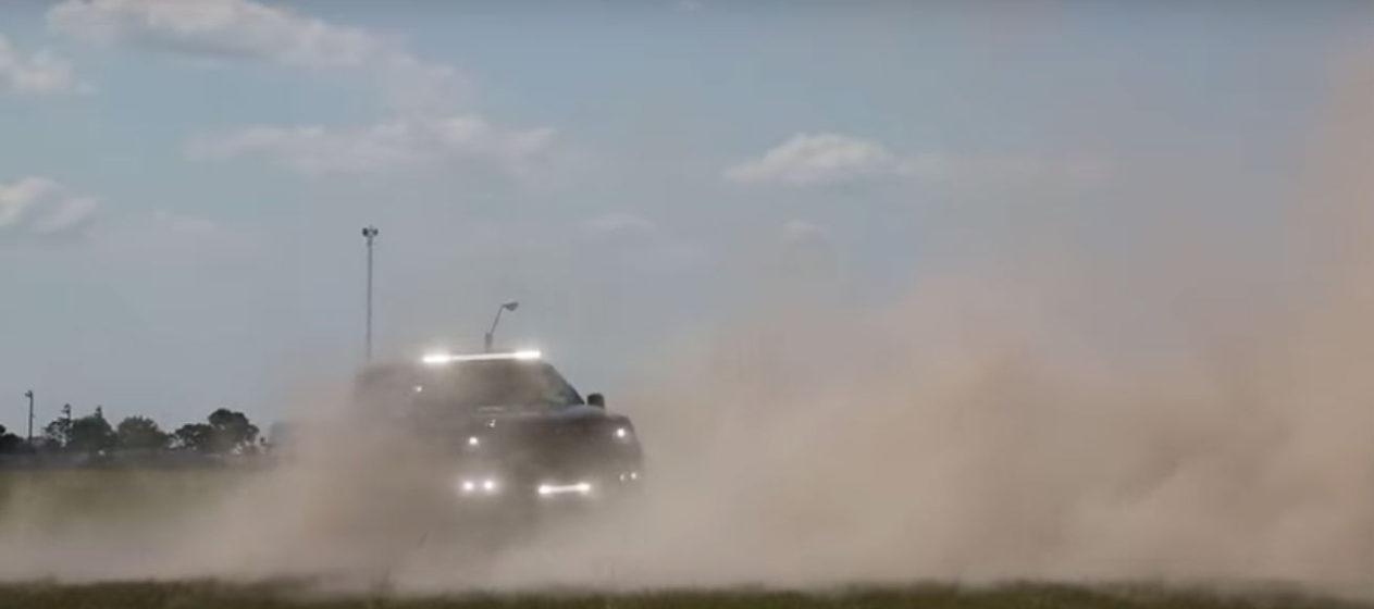 Hennessey VelociRaptor 6x6 video