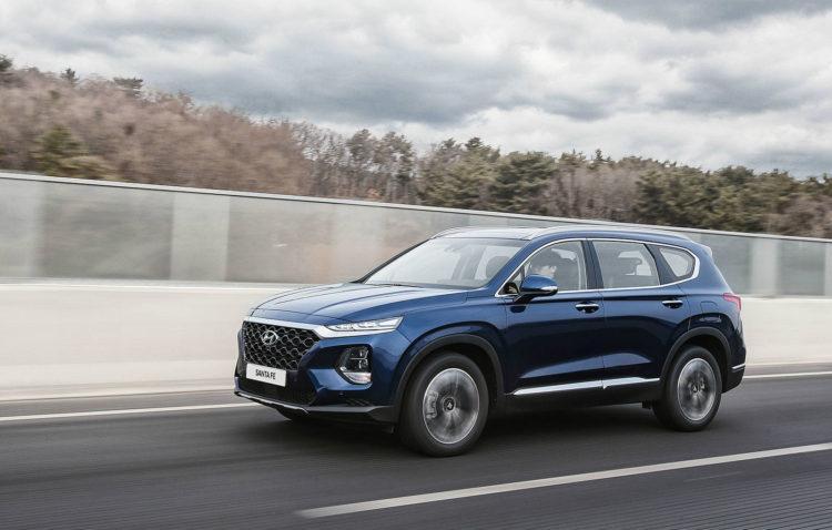 Hyundai Santa Fe hibrid