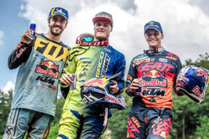 Podium Red Bull Romaniacs 2018 foto Mihai Stetcu Red Bull Content Pool