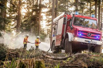 Unimog Pompieri
