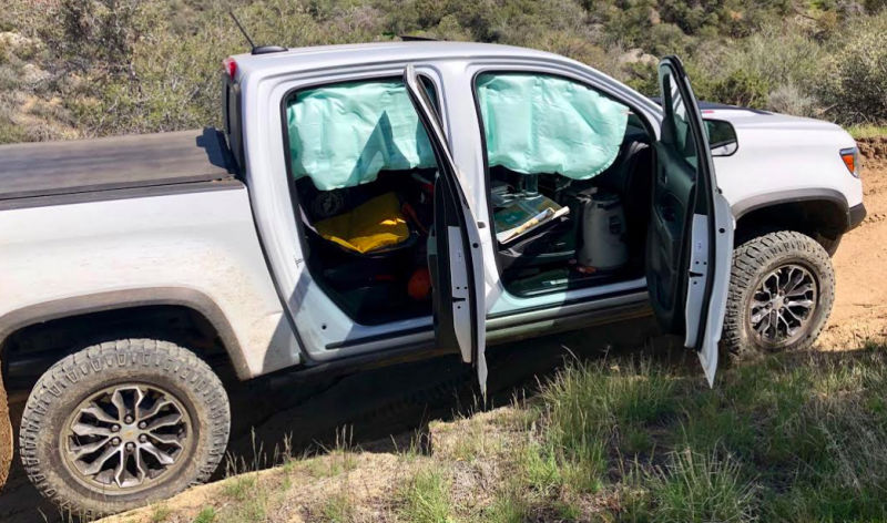 Chevrolet Colorado ZR2 airbag