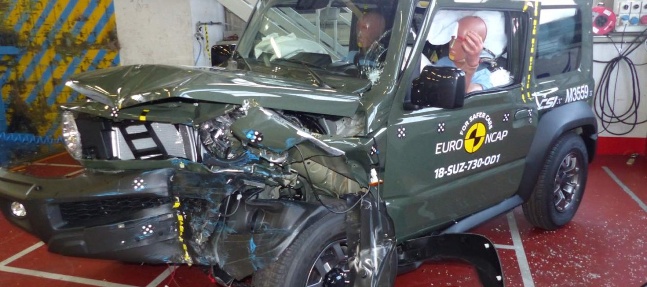 Suzuki Jimny 2018 crashtest EuroNCAP02