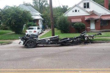 accident Ford F-150 vs Camaro