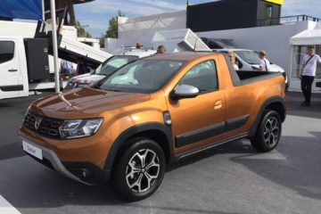 Dacia Duster 2 pick-up romturingia