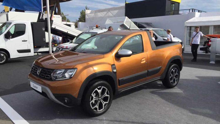 Dacia Duster 2 pick-up romturingia