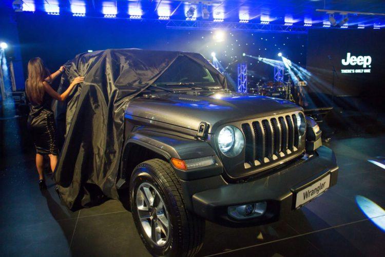 Jeep Wrangler in Romania