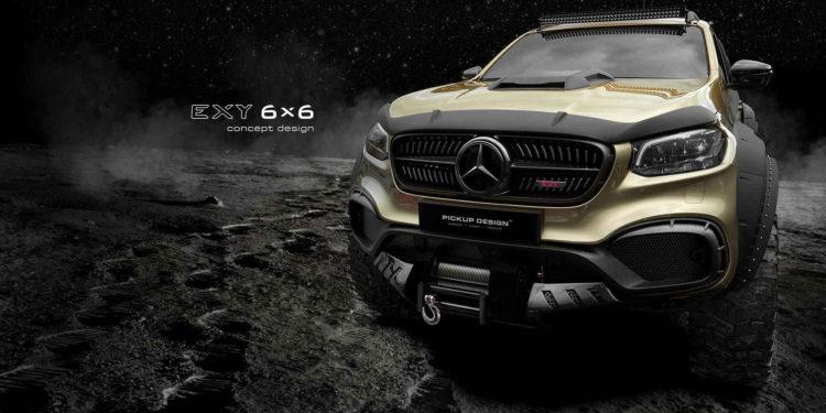 Mercedes-Benz Clasa X 6x6 Carlex