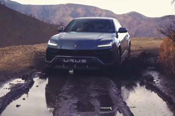 off-road cu Lamborghini Urus