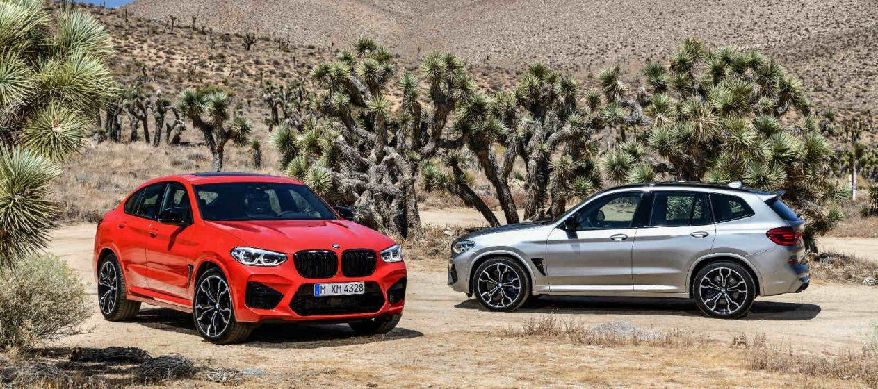 BMW X3M BMW X4M