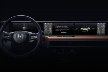 prima masina electrica Honda