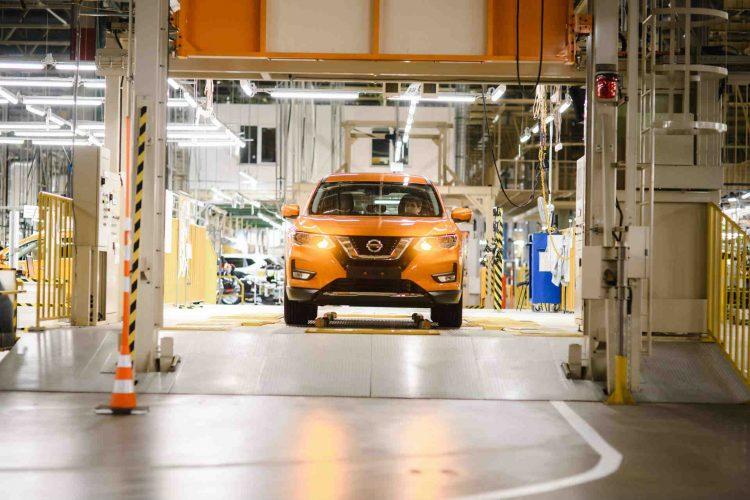Nissan X-Trail productie Kyushu