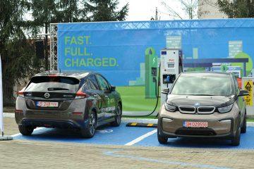 Statie incarcare masini electrice eOn MOL Iasi