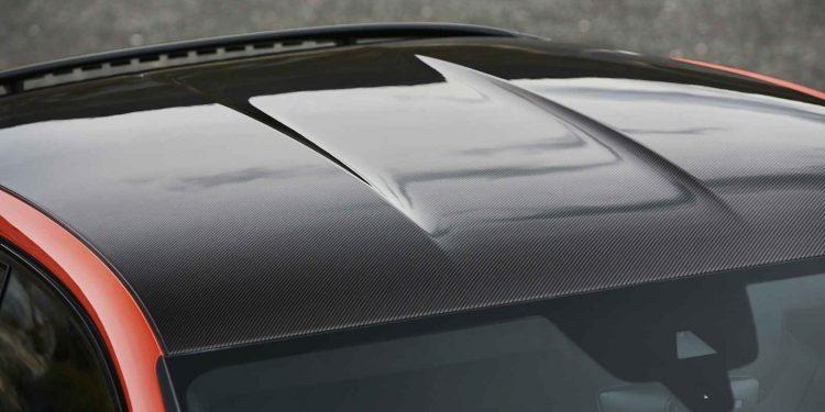 Cayenne Coupe plafon fibra de carbon