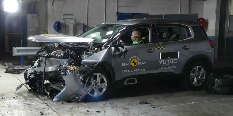 Citroen C5 Aircross EuroNCAP rating