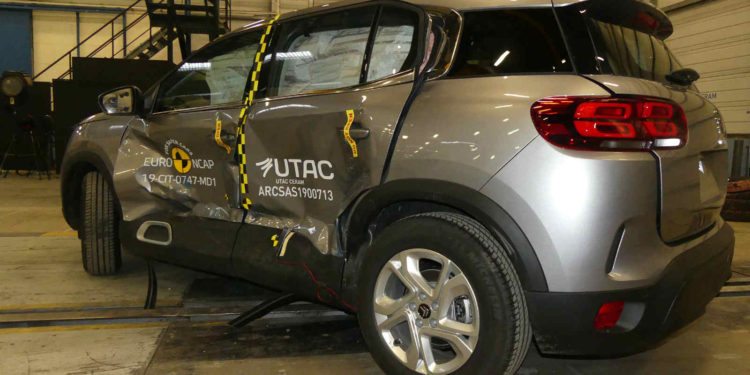 Citroen C5 Aircross EuroNCAP test 2019