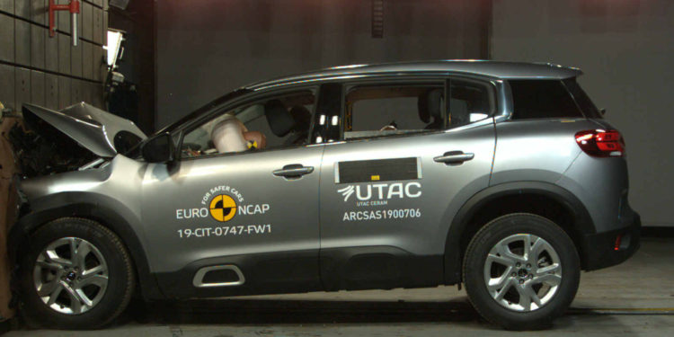 Citroen C5 Aircross EuroNCAP test